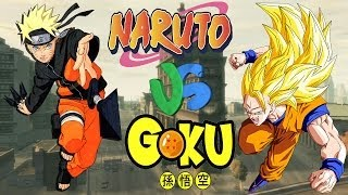 NARUTO VS GOKU - EPIC BATTLE - GTA IV