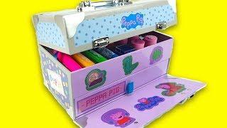 Свинка Пеппа коробка с развлечениями для детей