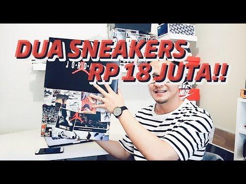 BELI 2 SNEAKERS RP 18 JUTA!! KEEP ATAU RESELL??