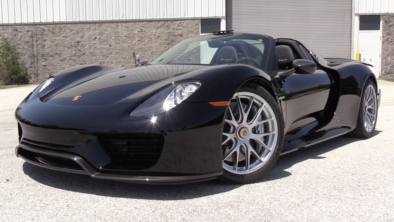 2015 porsche 918 spyder w weissach package start up exhaust in depth review youtube - Porsche 918 Spyder 2015