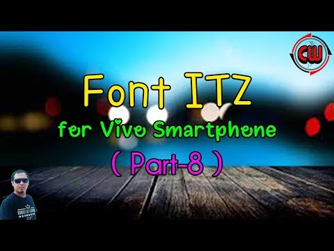 FONT VIVO format ITZ (Part-8)