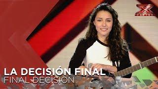 Elena Farga | Risto Mejide & India Martínez | La Decisión Final | Factor X 2018