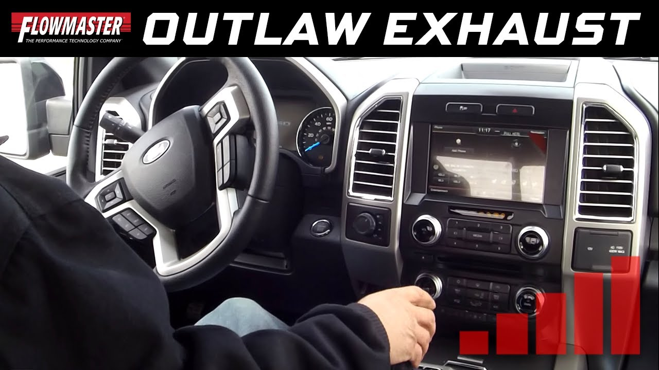 flowmaster outlaw cat back interior 2015 2017 ford f150 trucks all engines 817726