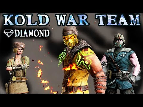 Mortal Kombat Mobile. Diamond Kold War Team. EXTREMELY OVERPOWERED! Can't Lose!