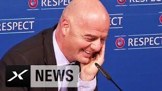 Kryetari i FIFA�s tallet me Serbin�