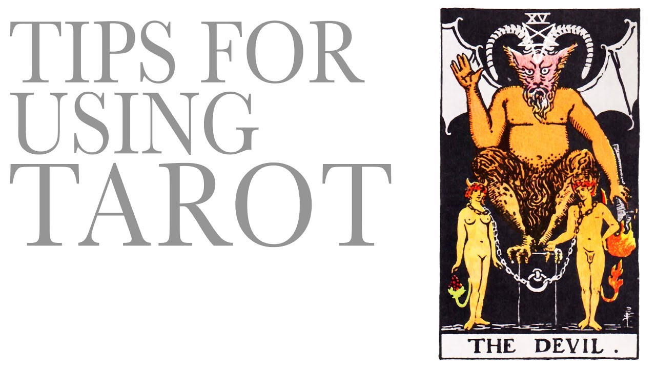 What NOT to do with Tarot cards!