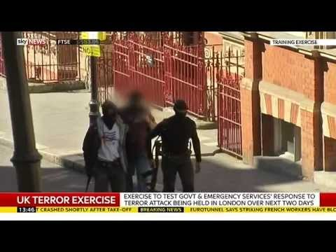 UK Police Test Terrorism Attack Response In London