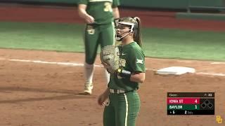 Baylor Softball: Highlights vs. Iowa State (Game 1)