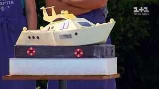 Торт у вигляді яхти для Влада Ями. Король десертів. 1 сезон 5 випуск