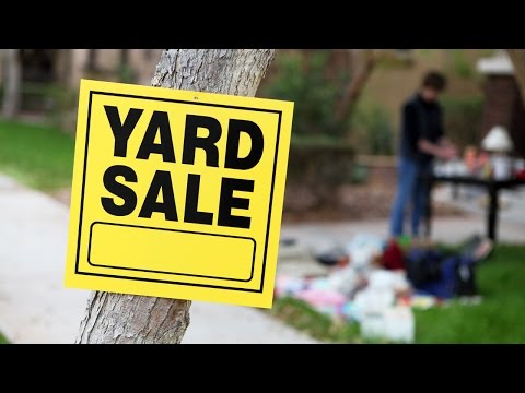 Garage Sale Deals And Insurance Problems
