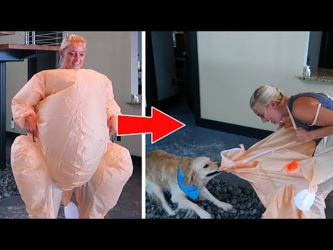 DOGS FREAK OUT OVER TURKEY SUITS (Thanksgiving SCS #170)