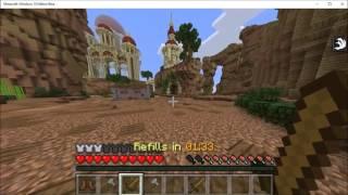 "Minecraft Windows 10 Edition Beta: Hunger Games #1 ""FRESH STAR…"