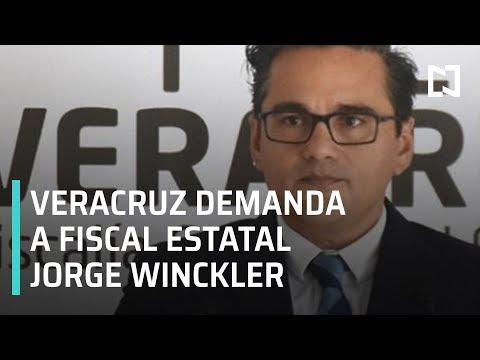 Veracruz denuncia al fiscal estatal Jorge Winckler - Noticias MX