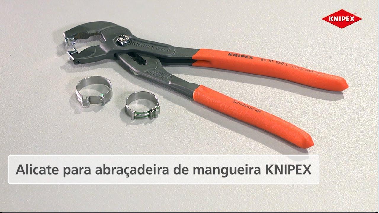 Knipex Alicate Para Abra 231 Adeiras De Mangueira Para