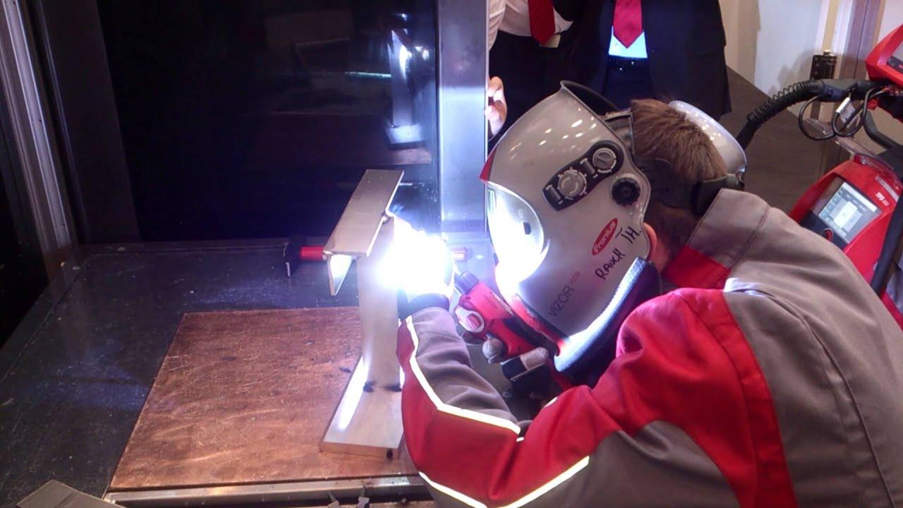 """Schweissen & Schneiden 2013"" Aluminium welding @Fronius"
