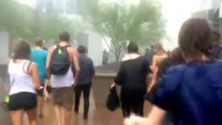 Giant haboob storm at Summer Ends Music Festival