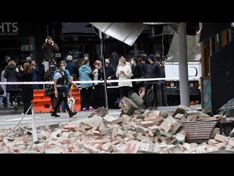 Download Erdbeben in Australien löst Panik in Melbourne aus