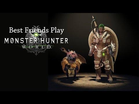 Best Friends Play Monster Hunter World
