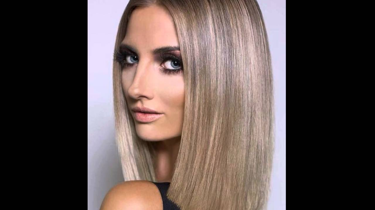 Brown Um Aschblond Ombre L 246 B Youtube