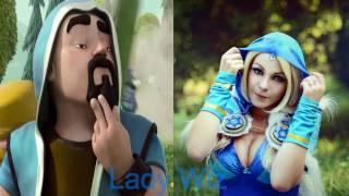 Clash Of Clans Troops In Real Life (Female Edition)