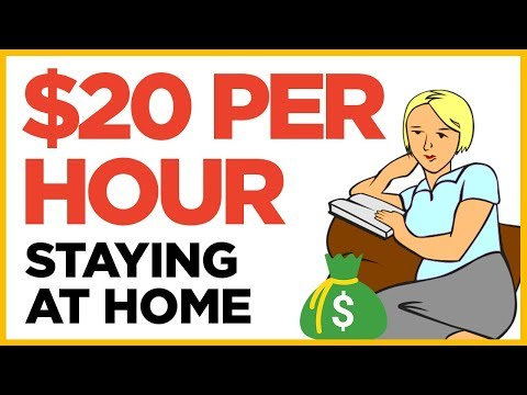 5 Sites That Pay $20 Per Hour To Stay At Home