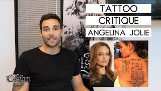 Video TATTOO CRITIQUE - Angelina Jolie download MP3, 3GP, MP4, WEBM, AVI, FLV Mei 2018