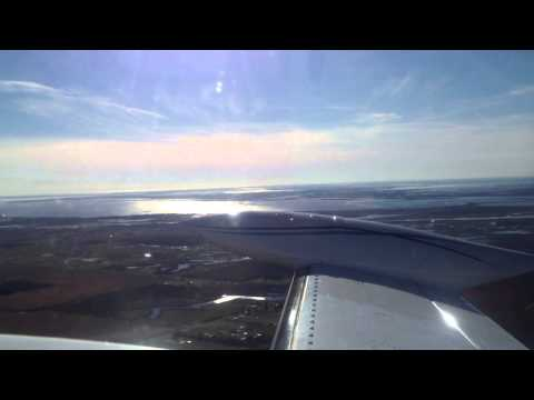 Cessna 340 Take off at Lake Charles