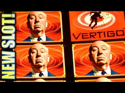★NEW SLOT! ALFRED HITCHCOCK★ 🤩 LET'S GET VERTIGO! Slot Machine Bonus (IGT)
