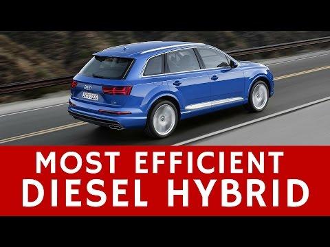 Most Efficient Diesel Plug-In Hybrid: Audi Q7 e-tron Quattro