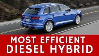 Audi Q7 e-tron TDI Plug-In Hybrid 2017 Car Review