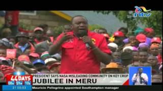 President reassures Meru community of support in miraa growing