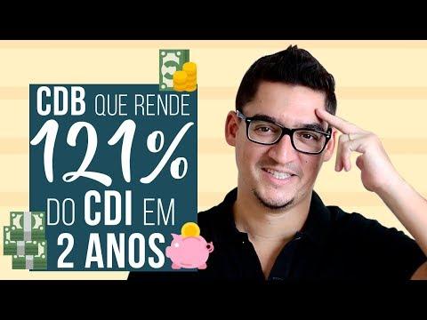 CDB QUE RENDE 121% do CDI em 2 ANOS