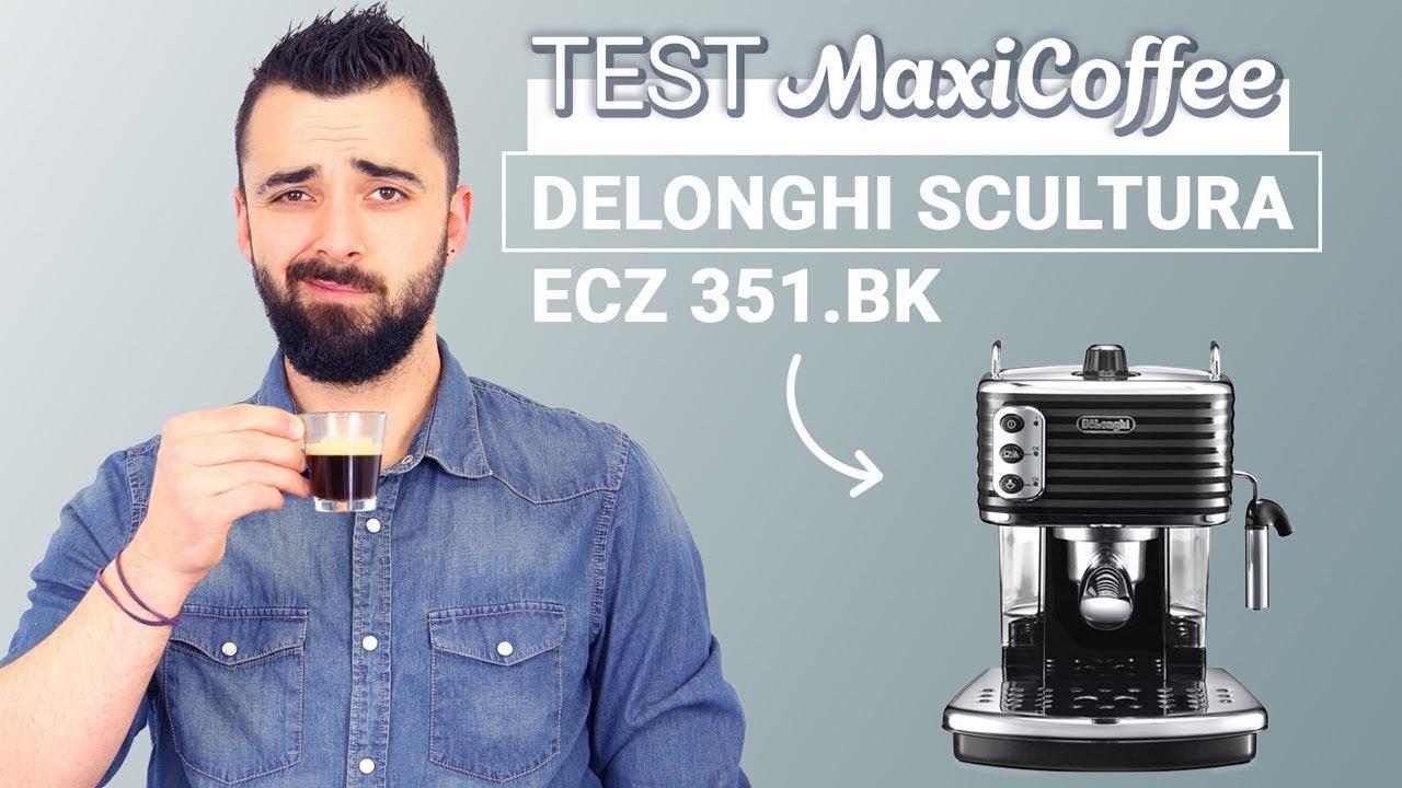 DELONGHI SCULTURA BLACK ECZ 351.BK | Machine expresso ...