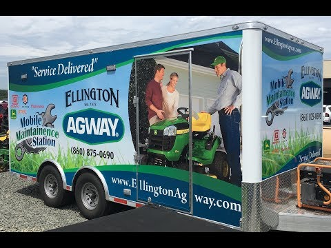 Service Delivered! Ellington Agway's Service-At-Home Program