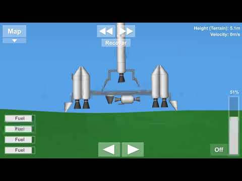 Mobile Launch Pad Saves Fuel! - Spaceflight Simulator