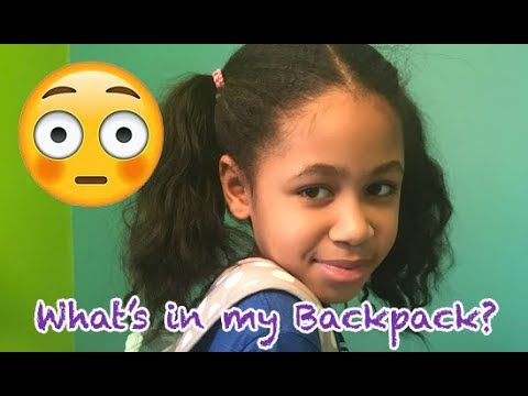 What's in my Backpack? | Life by Aleah