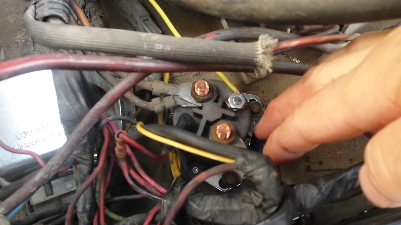 maxresdefault 1983 ford f250 6 9 diesel glow plug relay manual bypass youtube