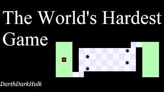 The World's Hardest Game (Gameplay sin Comentar).- DarthDarkHulk