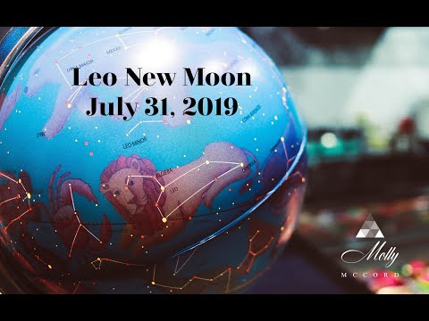 July 31 Leo ♌ New Moon ~ New Energy Waves Swirl In, Stay Open To Your Higher Emerging Light