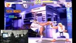 This has got to be the most amazing comeback in Streetfighter III h...