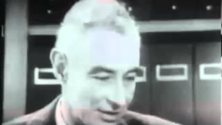 Interview with J  Robert Oppenheimer  RARE