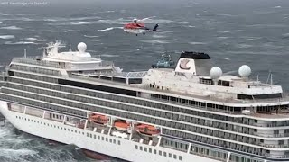 Stranded Norway cruise ship passengers evacuated from MV Viking Sky