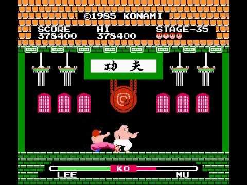Yie Ar Kung Fu (NES) (By Sting)