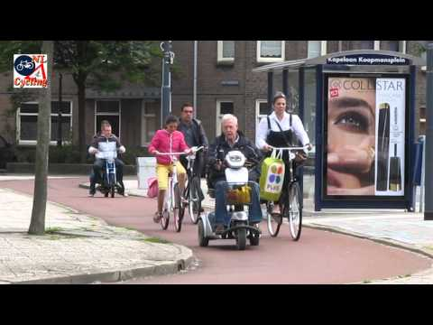 Who else benefits from the Dutch cycling infrastructure.