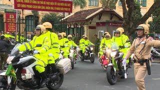 Công an thành phố Hà Nội xuất quân bảo vệ Hội nghị Thượng đỉnh Hoa Kỳ - Triều Tiên