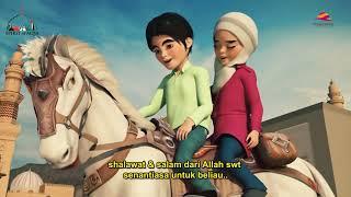 PETUALANGAN ISRA & MI'RAJ DIHALANGI MASUK AL-AQSA | Generasi Muslim Harus Nonton!