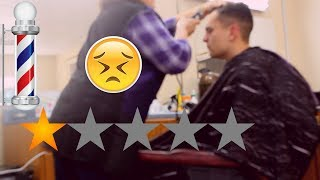 Going to the Worst Reviewed Barber Shop in My City (Stockton)