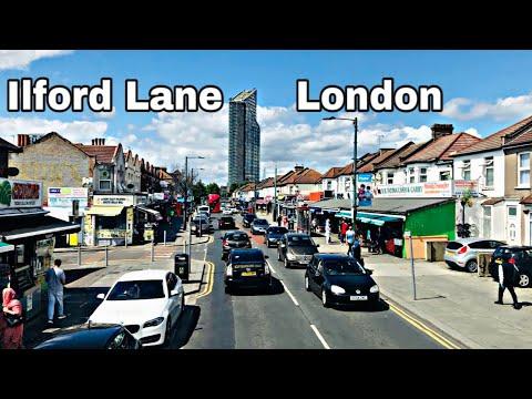 Ilford Lane Buss Ride 2020 | EL1 Ilford Lane London  لندن میں خوبصورت جگہ ضرور دیکھیں