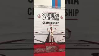 Yasmine Far won Gold medal in Southern California BJJ Championship 2018