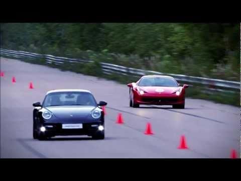 Ferrari 458 Italia vs Porsche 911 Turbo S PDK